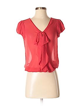 M.S.S.P. Short Sleeve Blouse Size XS (Petite)