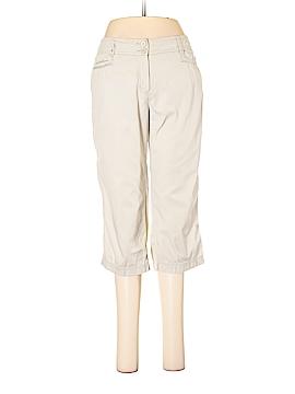 Larry Levine Khakis Size 4 (Petite)