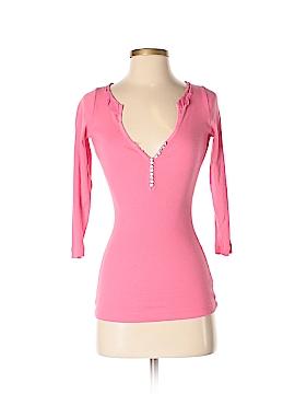 Charlotte Tarantola 3/4 Sleeve Henley Size XS