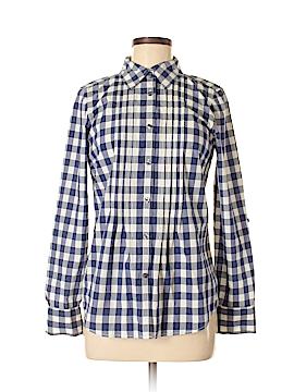 Bass Long Sleeve Button-Down Shirt Size S