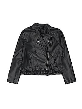 Me Jane Faux Leather Jacket Size 14