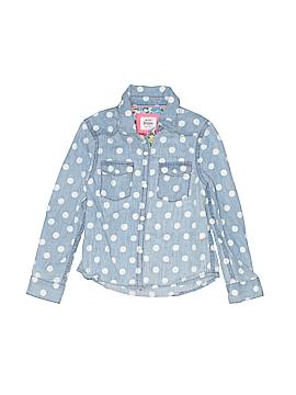 Mini Boden Long Sleeve Button-Down Shirt Size 2 - 3