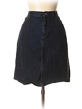 Lauren by Ralph Lauren Denim Skirt Size 16