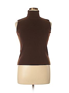 Designers Originals Sleeveless Turtleneck Size L