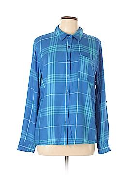 Como Vintage Long Sleeve Button-Down Shirt Size L