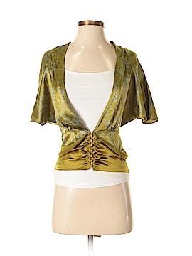 Noa Noa Short Sleeve Silk Top Size XS