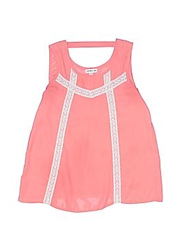 Monteau Girl Sleeveless Blouse Size 10