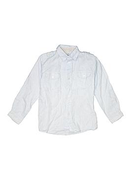 Zara Kids Long Sleeve Button-Down Shirt Size 6
