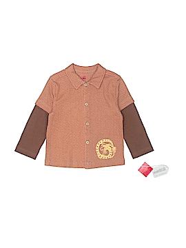 Tea Long Sleeve Button-Down Shirt Size 3