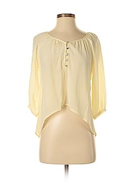 Trinity 3/4 Sleeve Silk Top Size XS