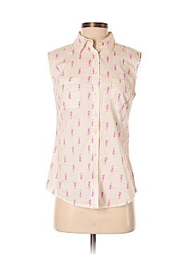 Merona Sleeveless Button-Down Shirt Size XS
