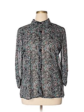 Socialite 3/4 Sleeve Blouse Size XL