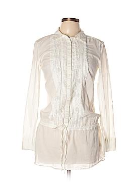 Nicole Miller Long Sleeve Button-Down Shirt Size S
