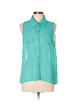 Eyelash Couture Sleeveless Blouse Size XL