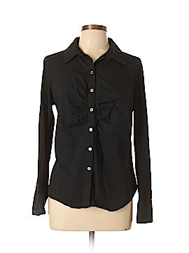Kohl's Long Sleeve Button-Down Shirt Size 0X (Plus)