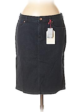 Lands' End Denim Skirt Size 8