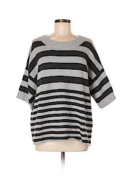 Aqua Wool Pullover Sweater Size M