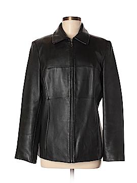 Jason Kole Leather Jacket Size M