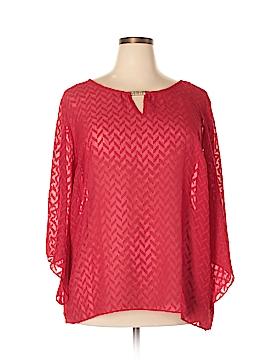 Alyx 3/4 Sleeve Blouse Size 2X (Plus)