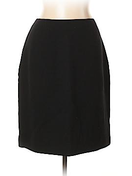 Teri Jon by Rickie Freeman Wool Skirt Size 14