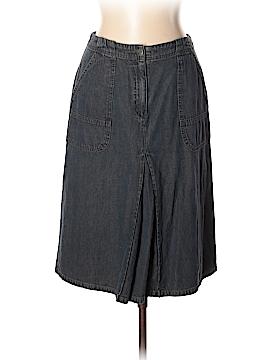 J.jill Denim Skirt Size 10 (Tall)