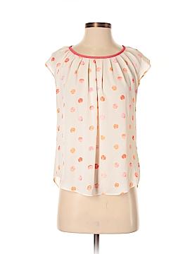 LC Lauren Conrad Short Sleeve Blouse Size XS