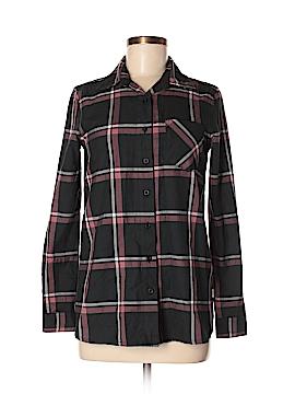 RVCA Long Sleeve Button-Down Shirt Size XS