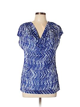 Rafaella Short Sleeve Top Size L (Petite)