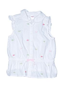 Crewcuts Sleeveless Button-Down Shirt Size 8
