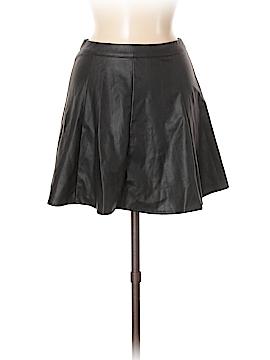 Glamorous Faux Leather Skirt Size 8