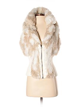 Ashley by 26 International Faux Fur Vest Size M