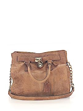 MICHAEL Michael Kors Leather Satchel One Size