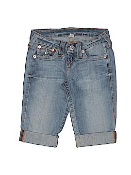 True Religion Denim Shorts 23 Waist