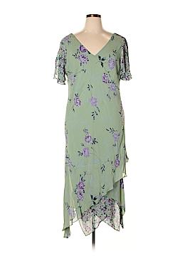 Eva Blue Cocktail Dress Size 20 (Plus)