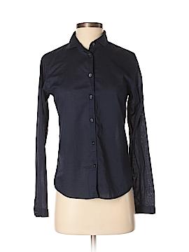 Ines de la Fressange for Uniqlo Long Sleeve Button-Down Shirt Size S