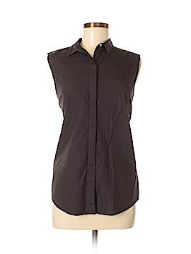 Everlane Sleeveless Button-Down Shirt Size M