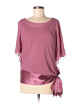 Studio M Short Sleeve Silk Top Size M