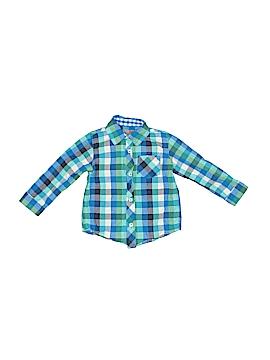 Arizona Jean Company Long Sleeve Button-Down Shirt Size 18 mo