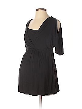 Maternal America Short Sleeve Top Size S (Maternity)