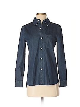 Kate Spade Saturday Long Sleeve Button-Down Shirt Size 00