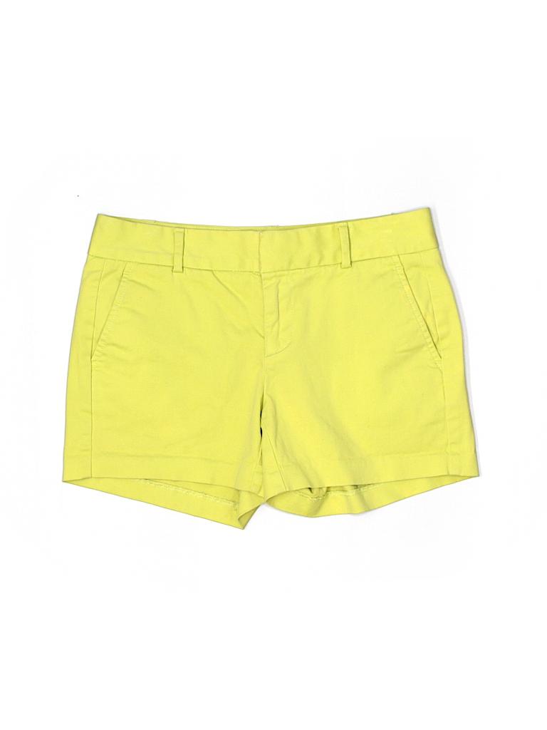 Banana Republic Women Khaki Shorts Size 0 (Petite)