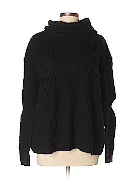 Aqua Turtleneck Sweater Size L