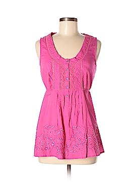 Meadow Rue Short Sleeve Button-Down Shirt Size 8