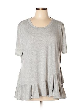 DG^2 by Diane Gilman Short Sleeve Top Size XL