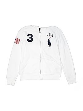 Polo by Ralph Lauren Zip Up Hoodie Size 10 - 12