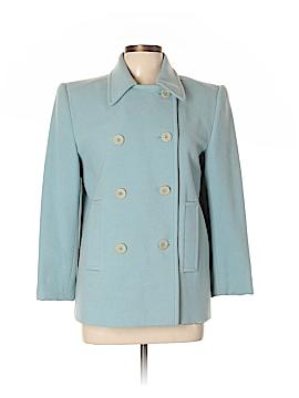 Linda Allard Ellen Tracy Wool Coat Size 8
