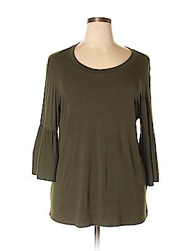 Kim & Cami 3/4 Sleeve T-Shirt Size XL