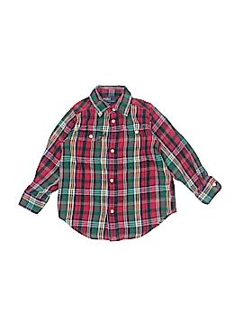 Polo by Ralph Lauren Long Sleeve Button-Down Shirt Size 3T