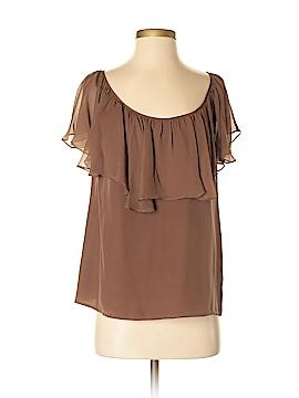 Ali Ro 3/4 Sleeve Silk Top Size 4