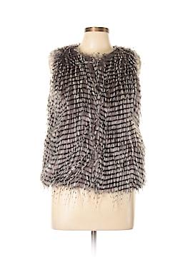 Wells Grace Faux Fur Vest Size M